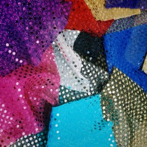 Sequin Fabric Samples