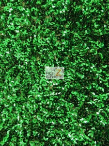 Scale Sequins Fabric Green