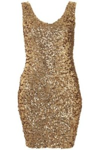 Scale Sequins Gorgeous Dress