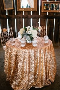 Sequins Wedding Decoration