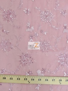 Appealing Snowflake Sequins Dress Fabric Measurement