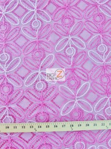 Butterfly Diamond Scalloped Sequin Fabric Measurement