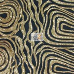 Elegant Formal Sequins Fabric Gold