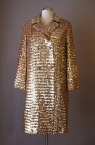Evening Shiny Sequins Coat
