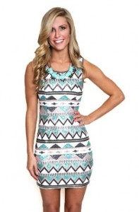 Egyptian Sequins Fabric Spring Dress