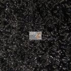 Scale Sequins Mesh Fabric Black