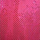 Small Confetti Dot Sequin Fabric Neon Pink