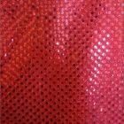 Small Confetti Dot Sequin Fabric Red
