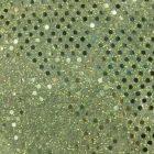 Small Confetti Dot Sequin Fabric Sage