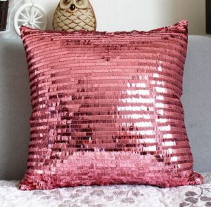 Shiny Joy Sequins Cushion Cover