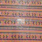 Tribal Pocahontas Sequins Multi Color Fabric Arapaho