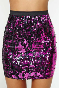 Reversible Mermaid Sequin Skirt