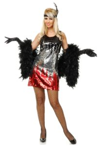Sequins Flapper Costume