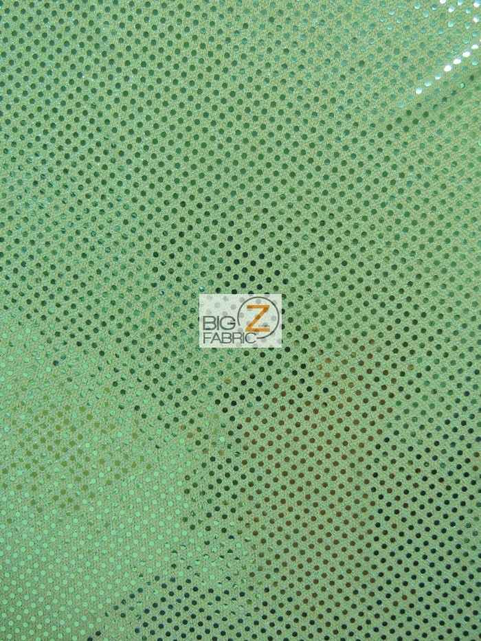 Aqua Small Confetti Dot Sequins Fabric