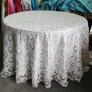 Sequins Lace Tablecloth