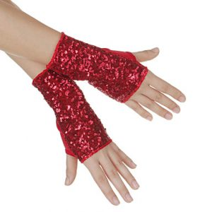 Dance Sequins Gloves