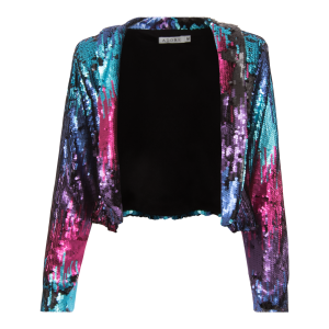 Rainbow Sequins Jacket