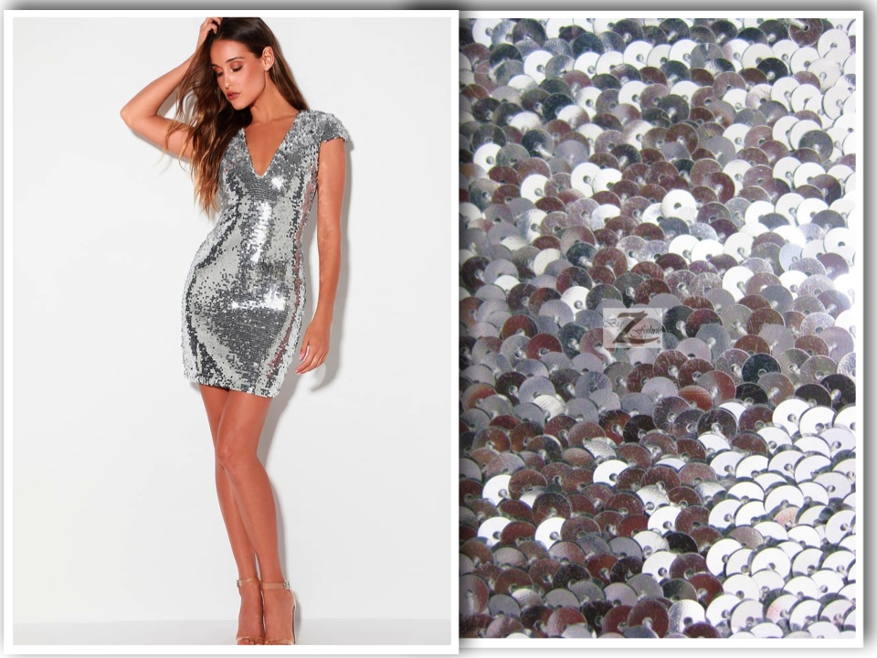 sequins 3D stretch